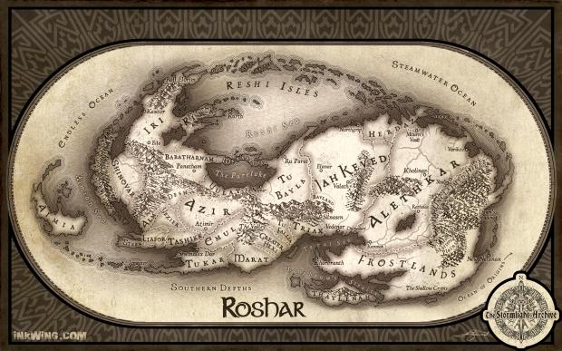 Roshar, Sturmlicht-Chroniken
