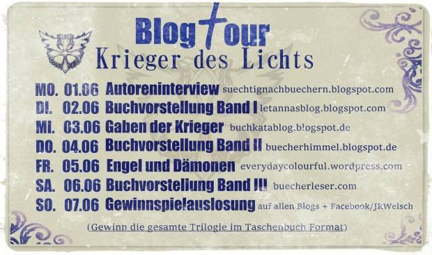 Blogtour Krieger des Lichts