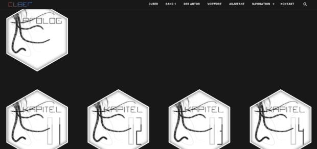 """Screenshot """"Der Adjutant"""" zu """"Cuber"""" von Robert Lukasczyk"""