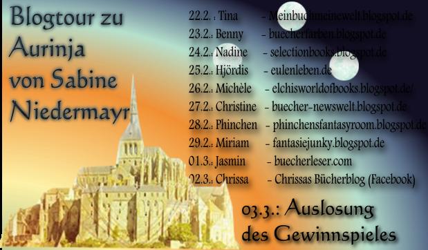 Blogtour Aurinja