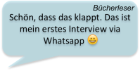 Bücherleser Interview