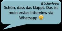 Bücherleser Interview