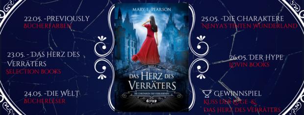 Blogtour das Herz des Verräters von Mary E. Pearson